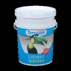 Pintura latex lavable interiores blanco eggshell