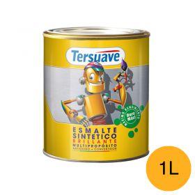 Esmalte sintetico multiproposito convertidor/antioxido amarillo brillante lata x 1l