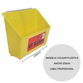 Bandeja colgar plastica pintor linea Profesional ancho 230mm
