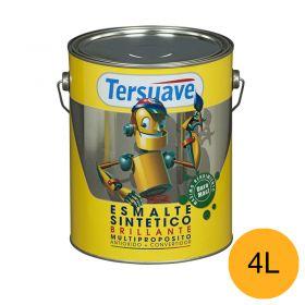 Esmalte sintetico multiproposito convertidor/antioxido amarillo brillante lata x 4l
