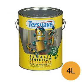 Esmalte sintetico multiproposito convertidor/antioxido amarillo mediano brillante lata x 4l