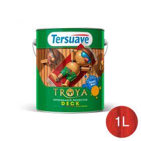 Impregnante protector deck Troya cerezo trasparente satinado lata x 1l
