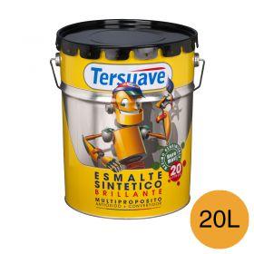 Esmalte sintetico multiproposito convertidor/antioxido amarillo mediano brillante balde x 20l