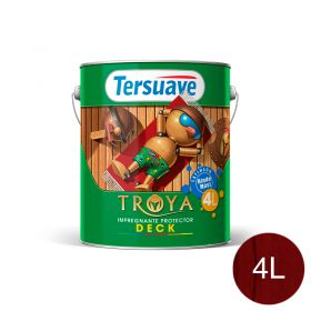 Impregnante protector deck Troya Teka trasparente satinado lata x 4l