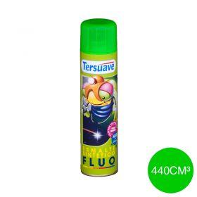 Aerosol esmalte sintetico fluo verde mate x 440cm³