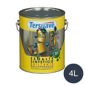 Esmalte sintetico multiproposito convertidor/antioxido azul brillante lata x 4l