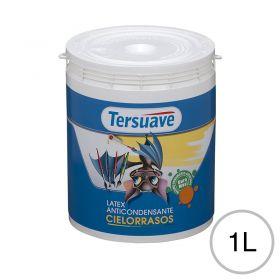 Pintura latex acrilico cielorraso anticondensante interior blanco mate balde x 1l