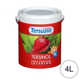 Pintura latex acrilico Tersinol interior antihongo blanco mate balde x 4l