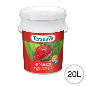 Pintura latex acrilico Tersinol interior antihongo blanco mate balde x 20l