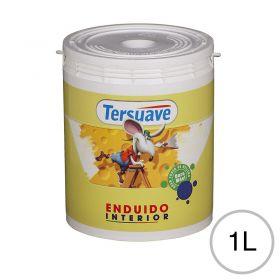 Enduido plastico interior blanco mate balde x 1l