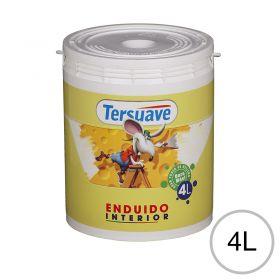Enduido plastico interior blanco mate balde x 4l