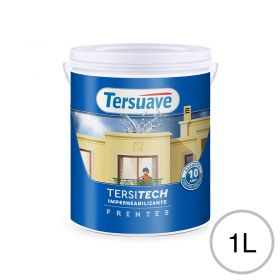 Impermeabilizante frentes Tersitech blanco semi mate balde x 1l