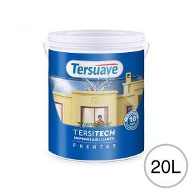 Impermeabilizante frentes Tersitech blanco semi mate balde x 20l