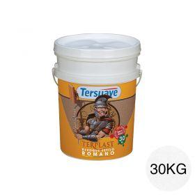 Revestimiento plastico texturable Terplast Romano textura ultrafino blanco mate balde x 30kg