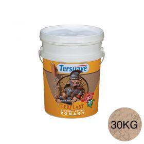 Revestimiento plastico texturable Terplast Romano textura mediano marfileño balde x 30kg