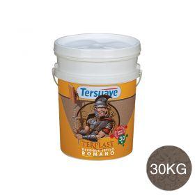 Revestimiento plastico texturable Terplast Romano textura mediano marron serrano balde x 30kg