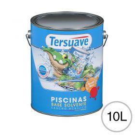 Pintura acrilica piletas base solvente blanco semi mate balde x 10l
