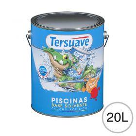 Pintura acrilica piletas base solvente blanco semi mate balde x 20l