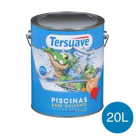 Pintura acrilica piletas base solvente azul semi mate balde x 20l