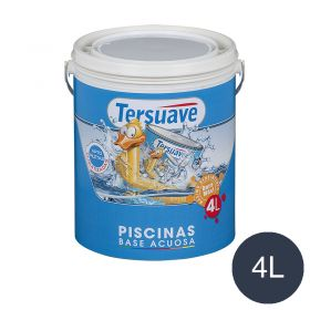 Pintura acrilica piletas al agua azul mate balde x 4l