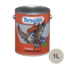 Pintura antioxido cromato de zinc gris mate balde x 1l