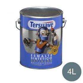 Esmalte sintetico multiproposito convertidor/antioxido azul capri satinado lata x 4l