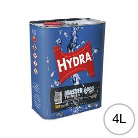 Diluyente lacas color acrilicas Thinner Hydra Master 6000 2K uso automotor/Industrial lata x 4l