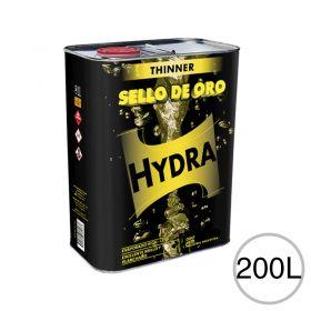 Diluyente lacas acrílicas Thinner Hydra Sello de Oro uso automotor/Industrial/general tambor x 200l