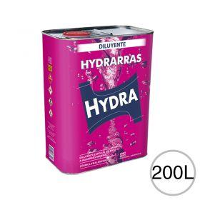 Diluyente esmaltes barnices fondos sintéticos Hydrarras uso automotor/Industrial/general tambor x 200l