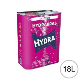 Diluyente esmaltes barnices fondos sintéticos Hydrarras uso automotor/Industrial/general lata x 18l
