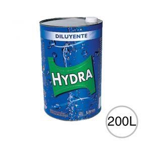 Diluyente esmaltes lacas fondos acabados poliuretanicos Hydra tambor x 200l
