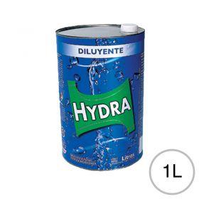 Diluyente esmaltes lacas fondos acabados poliuretanicos Hydra lata x 1l